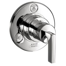 <strong>Hansgrohe</strong> Axor Citterio Trio and Quattro Trim with Lever Handle