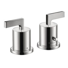 Axor Citterio Thermostatic Tub Filler Trim with Lever Handle