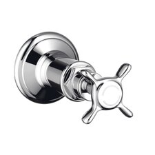 Volume Control Shower Faucet Trim with Cross Handle