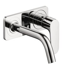 Axor Citterio M Single Handle Wall Mounted Faucet with Baseplate