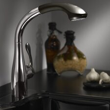 SemiArc Single Handle Kitchen Sink Faucet with Optional Baseplate