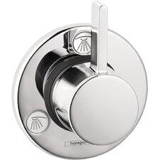 S Trio/Quattro Volume Control Faucet Shower Faucet Trim Only