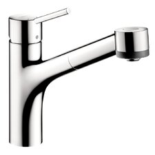 Interaktiv S One Handle Single-Hole Kitchen Faucet without Base Plate