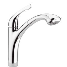 <strong>Hansgrohe</strong> Single Handle Kitchen Faucet with Pull Out Spray