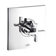 <strong>Hansgrohe</strong> Axor Citterio Thermostatic Shower Faucet Trim with Cross Handle
