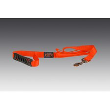 The Hatch Dog Leash in Blaze Orange