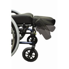 Swing Away Amputee Support Wheelchair Footrest