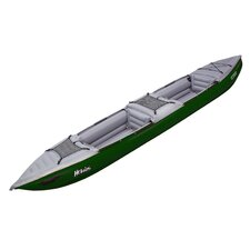 Helios II EX Inflatable Kayak in Green / Gray