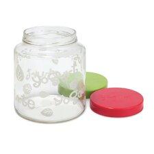 2-qt. Glass Jar with Lid