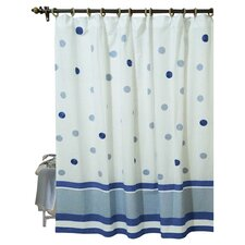 Elsie Cotton Shower Curtain