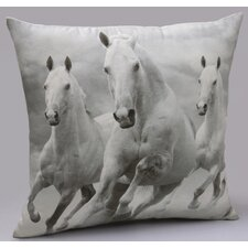 Majestic Horses Decorative Pillow
