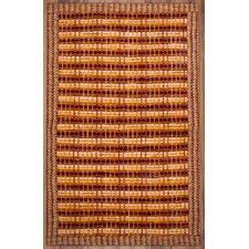 Border Chindi Spice Rug