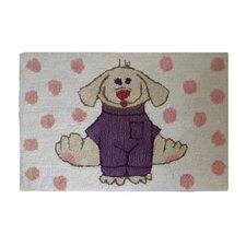 Dress Up Pup Bath Mat