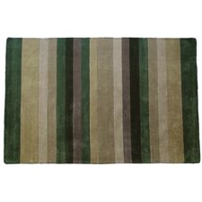 Tailored Sage Multi Stripe Rug