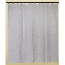 Waterfalls Cotton Shower Curtain