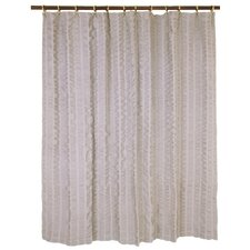 Waterfalls Cotton Shower Curtain