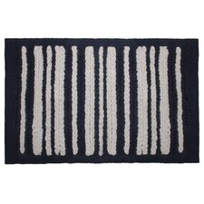 Nautical Stripe Chenille Bath Mat