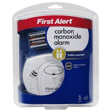 <strong>First Alert</strong> Battery Powered Carbon Monoxide Alarm