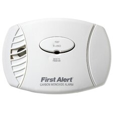 Plug In Carbon Monoxide Alarm with Battery Backup