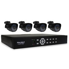 DCA8405-520 SmartBridge Indoor/Outdoor 8-Channel DVR Video Security System