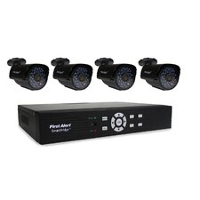 DCA4405-520 SmartBridge Indoor/Outdoor 4-Channel DVR Video Security System