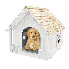 Bark-itecture Heart Dog House