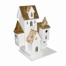 Signature Series Castle Free Standing Birdhouse
