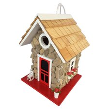 Hatchling Series Fieldstone Guest Cottage Hanging Birdhouse