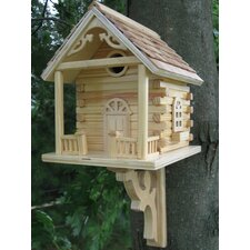 Classic Series Cabin Birdhouse