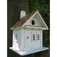 <strong>Home Bazaar</strong> Fledgling Series 'Shotgun' Cottage Birdhouse