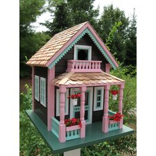 "<strong>Home Bazaar</strong> Signature Series Petoskey ""Lake View"" Cottage Birdhouse"