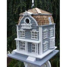 Victorian Birdhouse with Mansard Roof