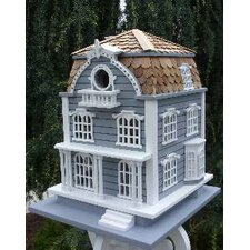 Victorian Bird House with Mansard Roof