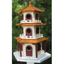 Signature Pagoda House Birdhouse