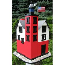 Historic Reproductions 'Round Island' Lighthouse Birdhouse