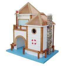 <strong>Home Bazaar</strong> Designs By Ken Sobel Lake House Free Standing Birdhouse