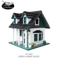Cottage Charmer Series Green Gables Freestanding Birdhouse