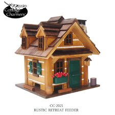 Cottage Charmer Series Rustic Retreat Bird Feeder