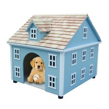 Bark-itecture Nantucket Colonial Dog House