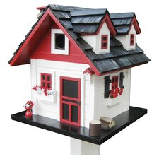 <strong>Home Bazaar</strong> Cottage Charmer Series Cherry Hill Free Standing Birdhouse
