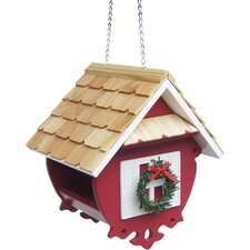 Historic Reproductions Holiday Offerings Christmas Decorative Hopper Bird Feeder