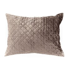 <strong>Pine Cone Hill</strong> Velvet Diamond Continental Pillow