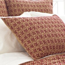 Cross-Stitch Quilted Sham