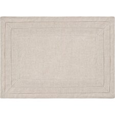 Pleated Linen Placemats in Natural (Set of 4)