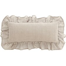 Linen Mesh Double Boudoir Pillow