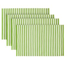 <strong>Pine Cone Hill</strong> Candy Stripe Placemats (Set of 4)