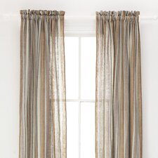 Treehouse Linen Rod Pocket Curtain Single Panel