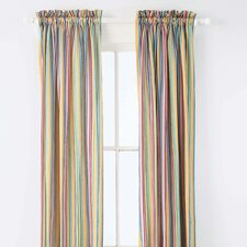 <strong>Pine Cone Hill</strong> Rainbow Cotton Rod Pocket Curtain Single Panel