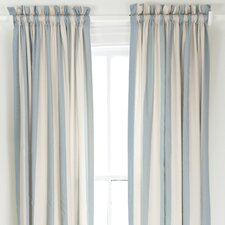 Madeline Stripe Curtain Single Panel