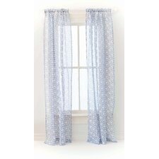 Veena Linen Rod Pocket Curtain Single Panel